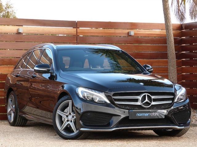 used Mercedes C220 BLUETEC AMG LINE PREMIUM