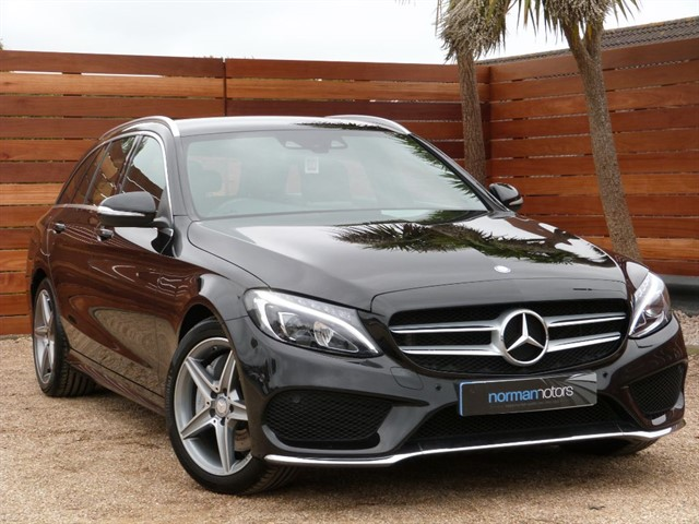 used Mercedes C250 BLUETEC AMG LINE