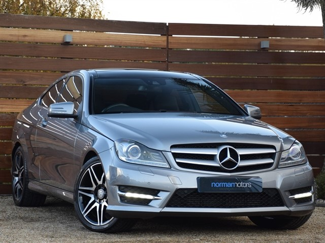 used Mercedes C220 CDI BLUEEFFICIENCY AMG SPORT PLUS