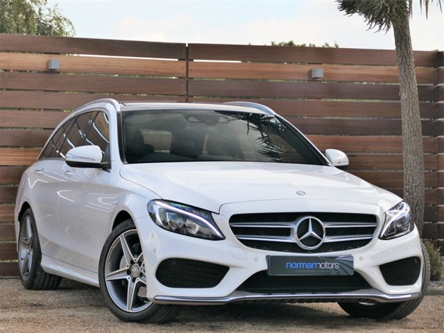 used Mercedes C220 BLUETEC AMG LINE PREMIUM PLUS