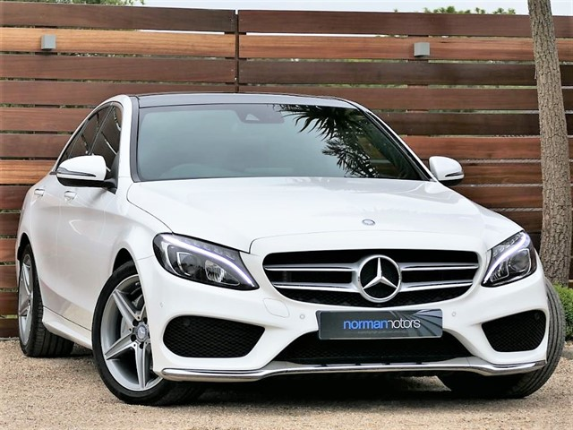 used Mercedes C220 D AMG LINE PREMIUM PLUS