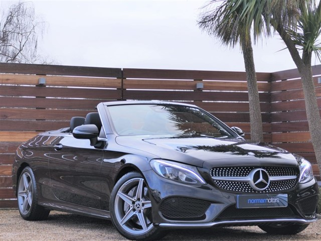 used Mercedes C250 D AMG LINE