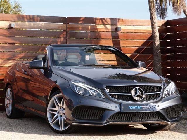used Mercedes E220 E-CLASS E 220 D AMG LINE EDITION