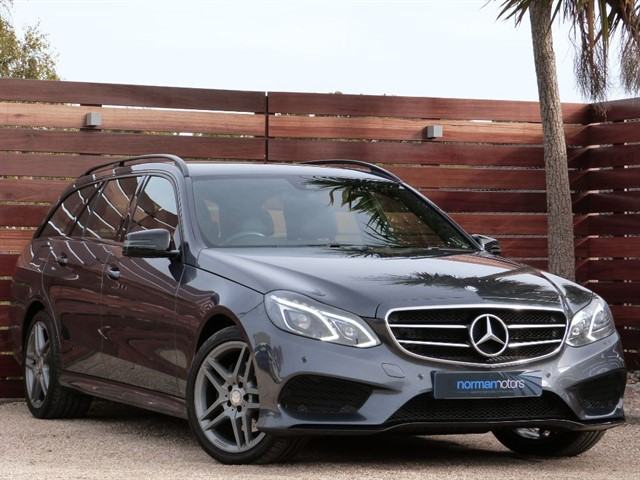 used Mercedes E220 BLUETEC AMG NIGHT EDITION