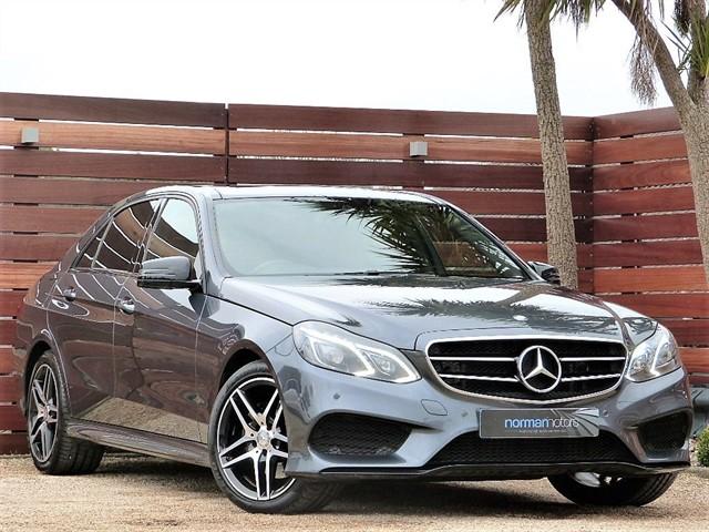 used Mercedes E220 BLUETEC AMG NIGHT ED PREMIUM PLUS