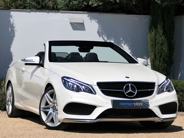 used Mercedes E350 D AMG LINE EDITION