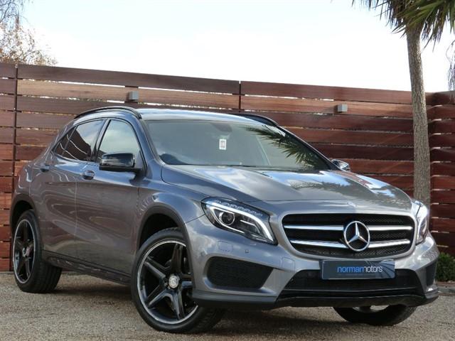 used Mercedes GL A-CLASS GLA220 CDI 4MATIC AMG LINE PREMIUM PLUS