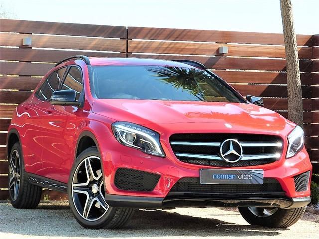 used Mercedes GLA220 CDI 4MATIC AMG LINE PREMIUM