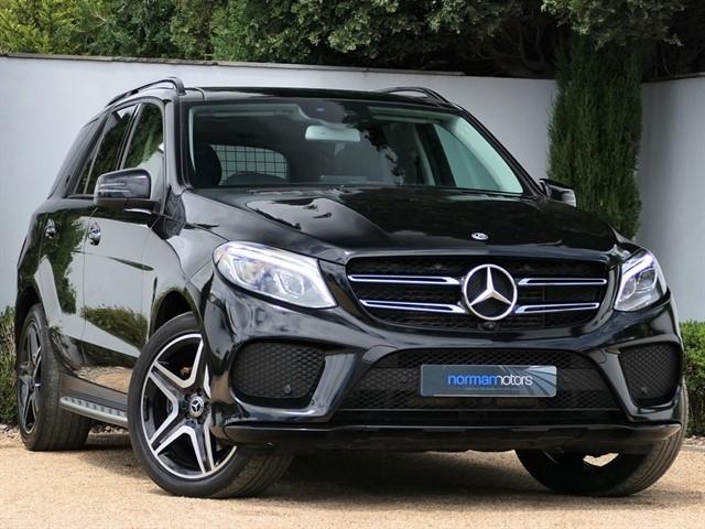 used Mercedes GLE250 D 4MATIC AMG LINE PREMIUM PLUS