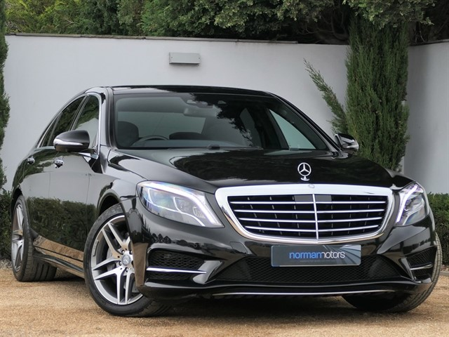 used Mercedes S350 D AMG LINE