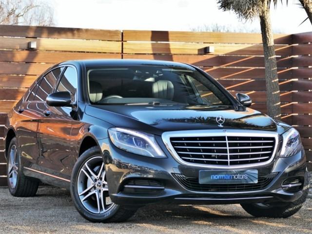 used Mercedes S350L D SE