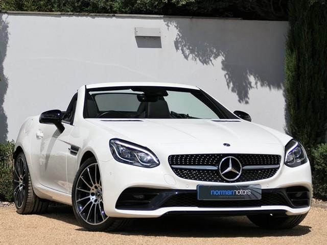 used Mercedes SLC200 AMG Line