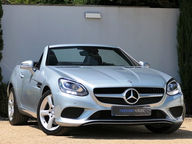 used Mercedes SLC250d SPORT
