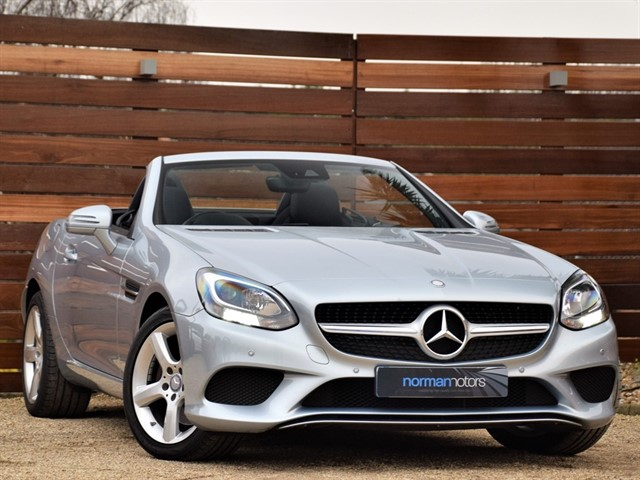 used Mercedes SLC250d SPORT