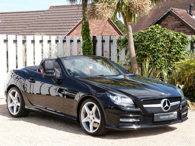 used Mercedes SLK SLK250 CDI BLUEEFFICIENCY AMG SPORT