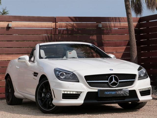used Mercedes SLK SLK55 AMG