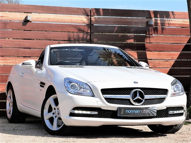 used Mercedes SLK250 SLK250 CDI BLUEEFFICIENCY