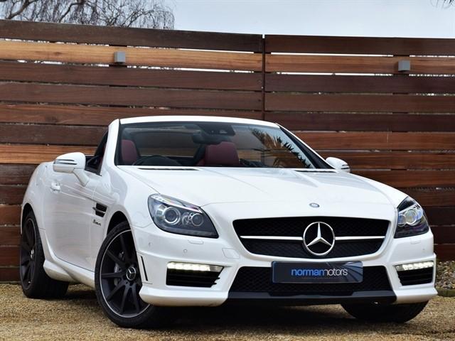used Mercedes SLK55 AMG
