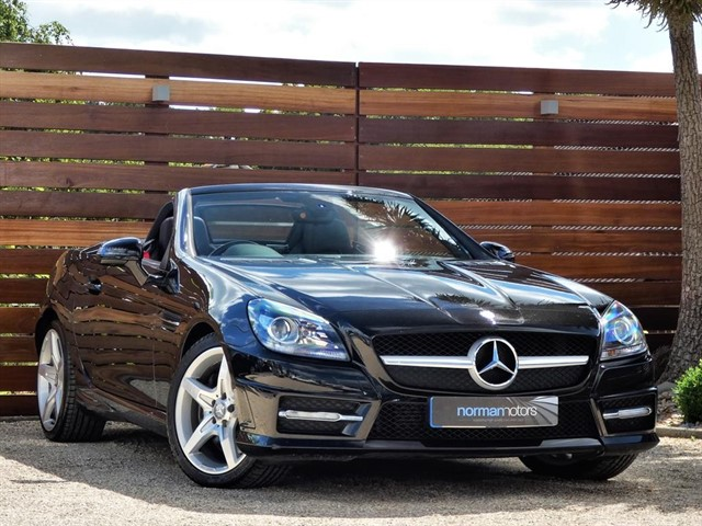 used Mercedes SLK200 SLK200 BLUEEFFICIENCY AMG SPORT