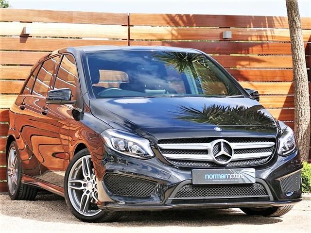 used Mercedes B180 D AMG LINE PREMIUM