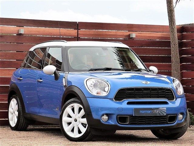 used MINI Countryman COOPER S ALL4