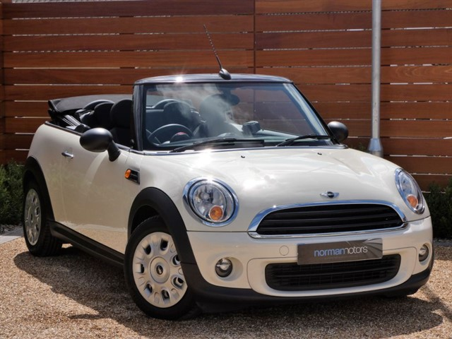used MINI One CONVERTIBLE ONE