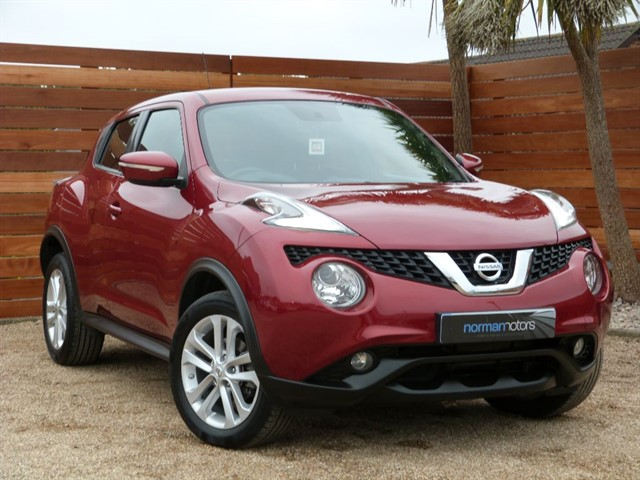 used Nissan Juke ACENTA PREMIUM XTRONIC