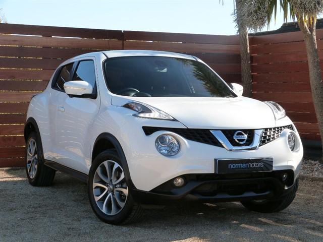used Nissan Juke TEKNA XTRONIC