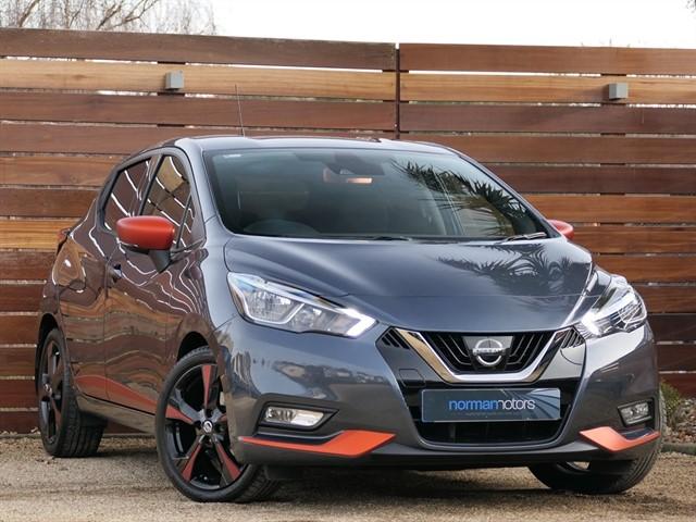 used Nissan Micra IG-T TEKNA