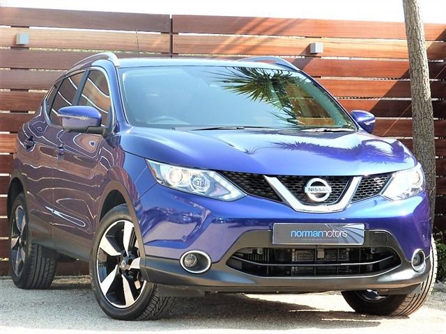 used Nissan Qashqai DCI N-TEC PLUS XTRONIC