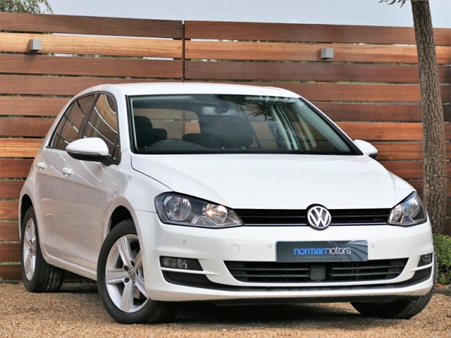 used VW Golf MATCH TDI BLUEMOTION TECHNOLOGY
