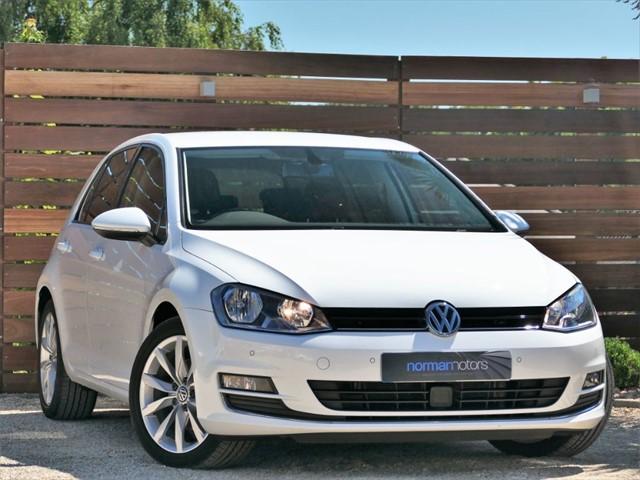 used VW Golf GT TDI BLUEMOTION TECHNOLOGY DSG