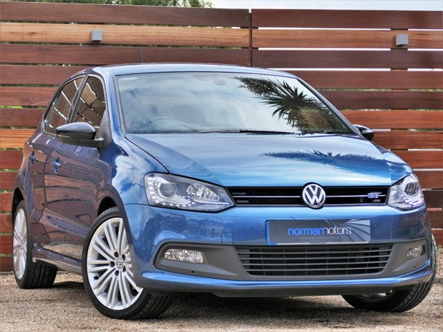 used VW Polo BLUEGT DSG