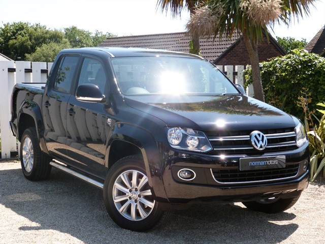 used VW Amarok DC TDI HIGHLINE 4MOTION