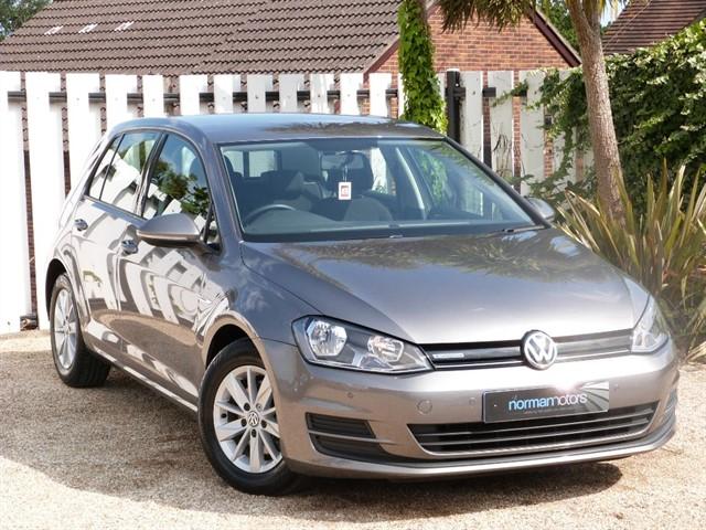 used VW Golf BLUEMOTION TDI