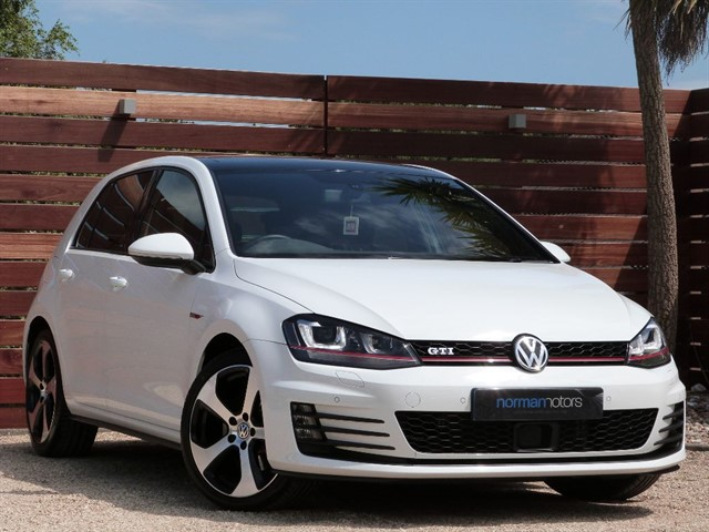 used VW Golf GTI DSG