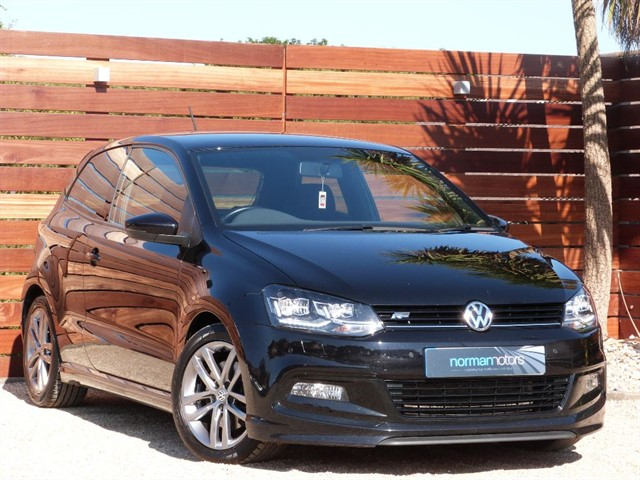 used VW Polo R LINE TSI