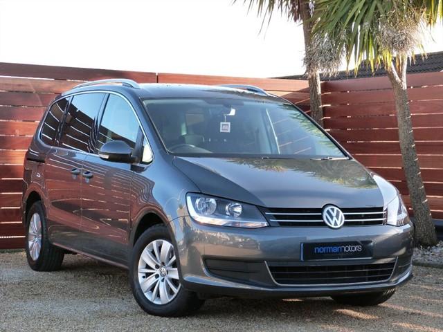 used VW Sharan SE NAV TDI BLUEMOTION TECHNOLOGY DSG