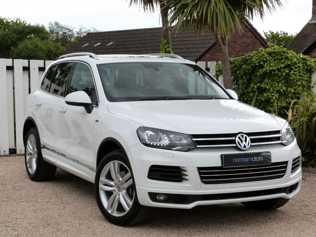 used VW Touareg V6 R-LINE TDI BLUEMOTION TECHNOLOGY