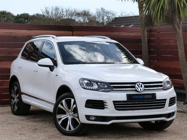 used VW Touareg V6 R-LINE TDI BLUEMOTION TECHNOLOGY