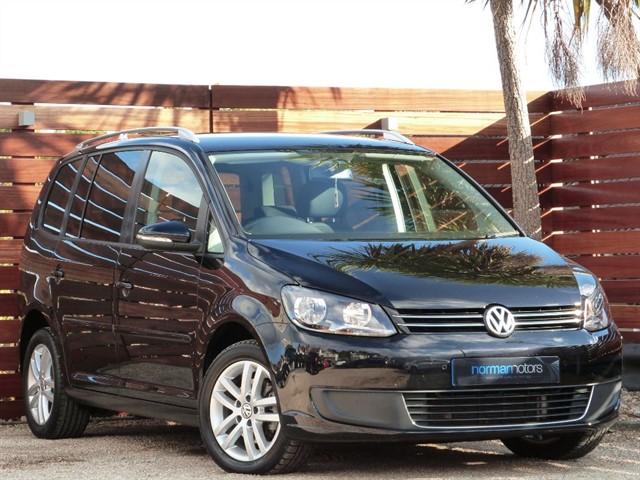 used VW Touran SE TDI BLUEMOTION TECHNOLOGY DSG