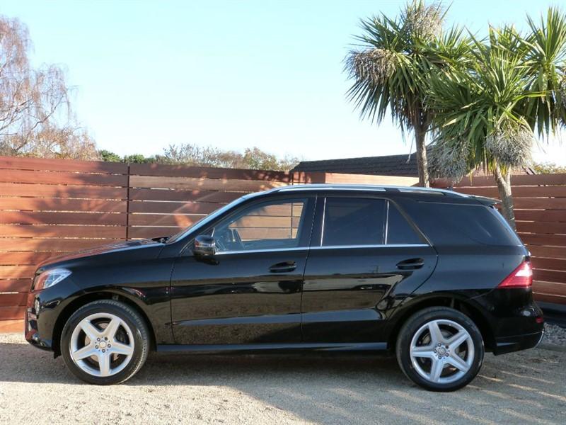 Used Obsidian Black Mercedes Ml350 For Sale Dorset