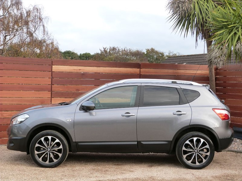 Used Gun Metal Grey Metallic Nissan Qashqai for Sale | Dorset