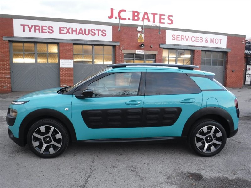 used Citroen C4 Cactus PURETECH FLAIR S/S in in-huddersfield-west