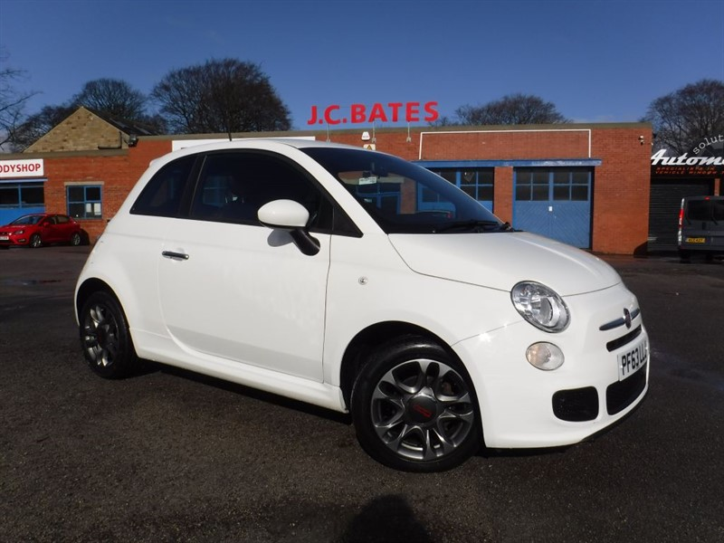 used Fiat 500 S in in-huddersfield-west