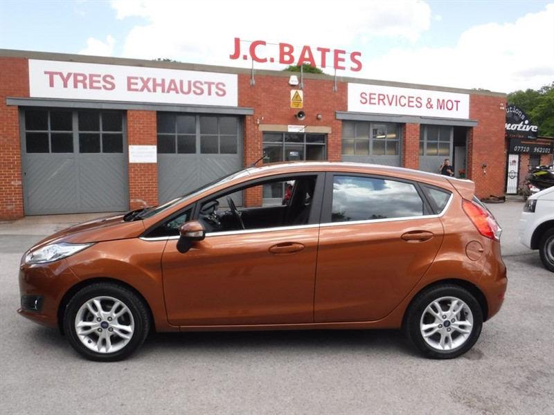 used Ford Fiesta ZETEC in in-huddersfield-west