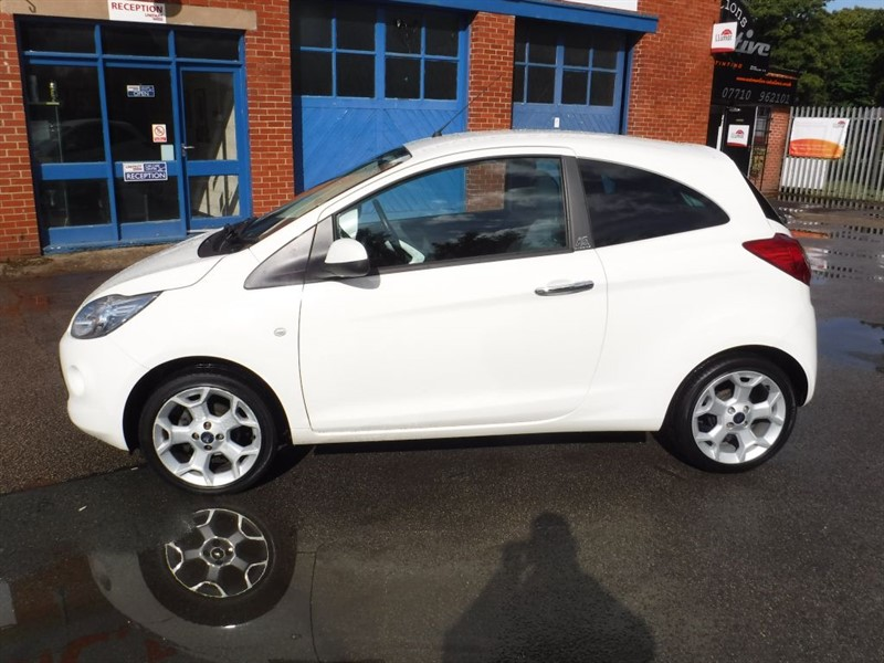 used Ford KA TITANIUM in in-huddersfield-west