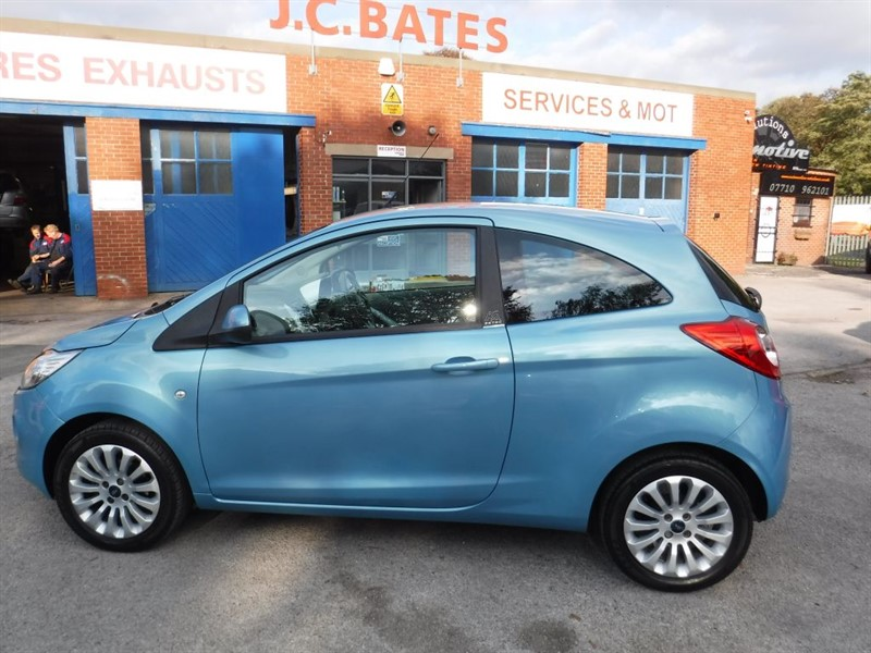 used Ford KA ZETEC in in-huddersfield-west