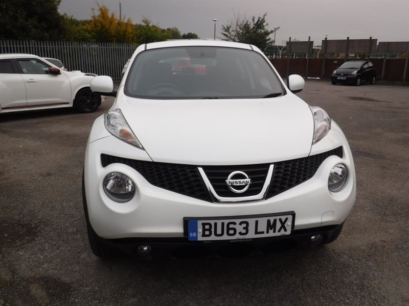 used Nissan Juke ACENTA in in-huddersfield-west
