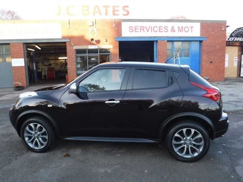 used Nissan Juke SHIRO in in-huddersfield-west